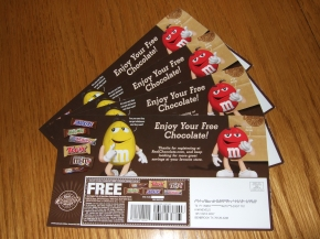 My Mars Candy Bar Coupons