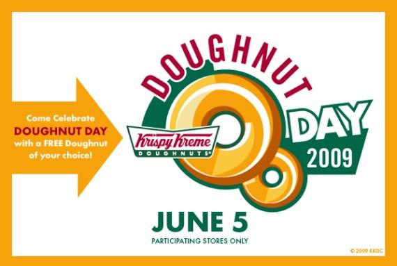Krsipy Kreme Donut Day
