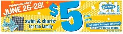 Old Navy $5 Shorts